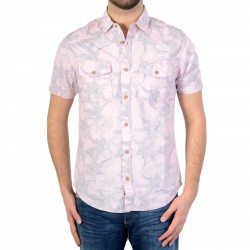 Chemise Petrol Industries M-SS16-SIS437 Sunset Pink 327