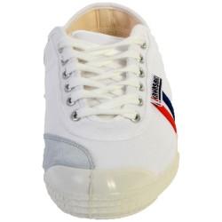 Basket KAwasaki Retro White / Red / Blue Stripes