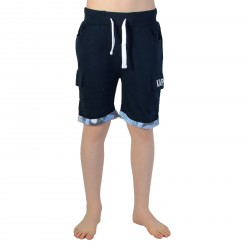 Short Kaporal Enfant Desta Blue Night