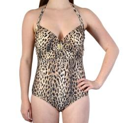 Maillot de Bain 1 Pièce Valège Wabaso Star Leopard