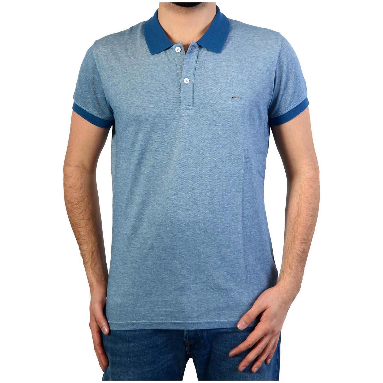 Polo Pepe Jeans Mason Pm540687 554 Electric Blue