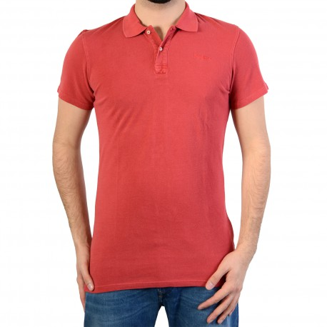 Polo Pepe Jeans Ernest New Pm540683 Cardinal Red 237