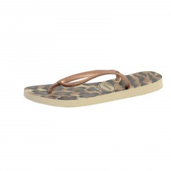 Tong havaianas Hav.Slim Animal Beige / Rose Gold