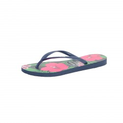 Tong Havaianas H.Slim Floral Navy Blue
