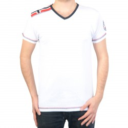 T-Shirt Geographical Norway Jagore SS Men 100 White