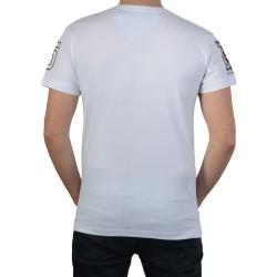 T-Shirt Geographical Norway Jasmin SS Men 100 Blanc