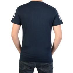 T-Shirt Geographical Norway Jasmin SS Men 100 Bleu