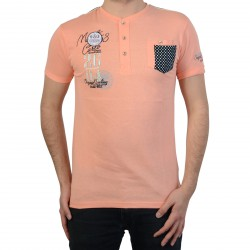 T-Shirt Geographical Norway Jisigny SS Men 100 Peach