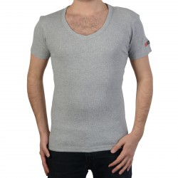 T-Shirt Geographical Norway Juba SS Men 226 Gris