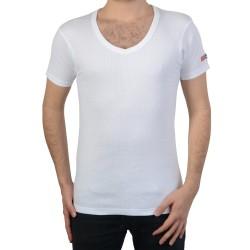 T-Shirt Geographical Norway Juba SS Men 226 Blanc