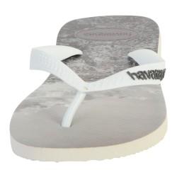Tong Havaianas H.Hype White/White/Grey