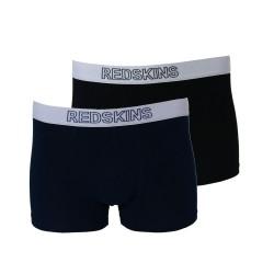Boxer Redskins Pack De 2 Bx08 NONA Noir/Navy