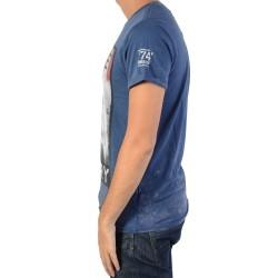 Tee Shirt Deeluxe Native W16157 Navy
