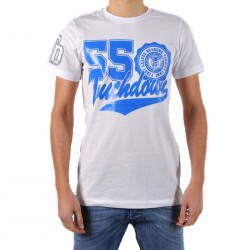 T-Shirt be and Be Touchdown 55 Blanc / Bic