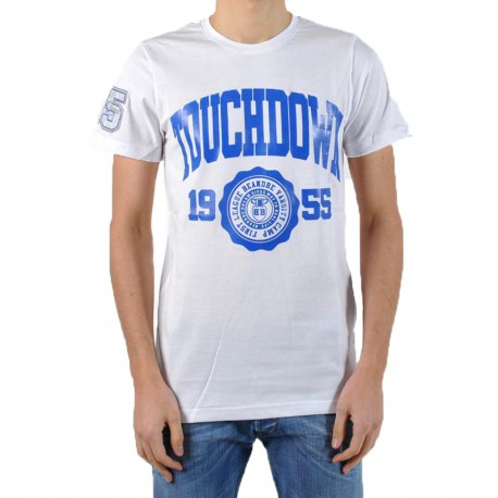 T-Shirt be and Be Touchdown 1955 Blanc / Bic