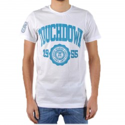 T-Shirt be and Be Touchdown 1955 Blanc / Turquoise