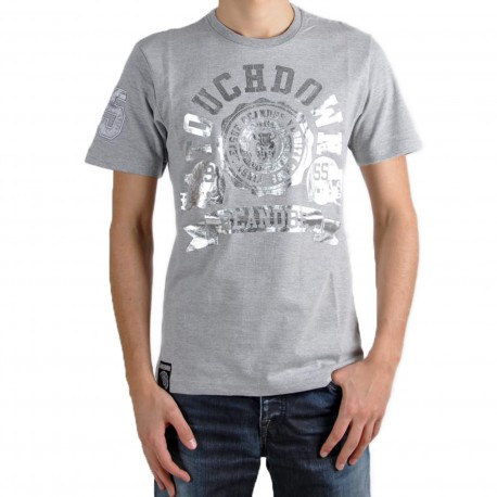 T-Shirt Be and Be Touchdown Gris / Silver