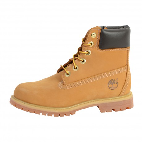 Chaussure Timberland 10361 AF 6IN PREM WHEAT W NB YELLOW