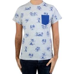 Tee Shirt Deeluxe Wilton S17132 Medium Grey