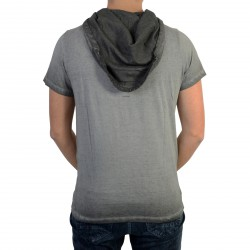 Tee Shirt Deeluxe Newflood S17155 Grey