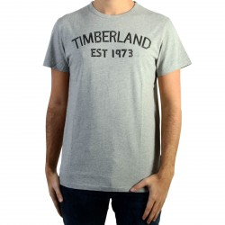 Tee Shirt Timberland Tape Tee Med Gry Heat
