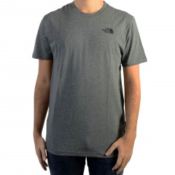 Tee Shirt The North Face Red Box Tee Meduim Grey heather