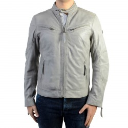 Blouson En Cuir Redskins Lynch Casting Cement