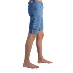 Short Pepe Jeans Enfant Barry PB800276 563 Steel Blue