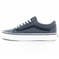 Basket Vans Old Skool Chambray Blue