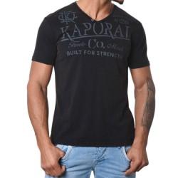 Tee Shirt Kaporal Tazor Black