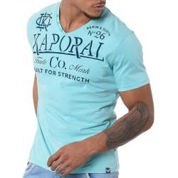 Tee Shirt Kaporal Tazor Aqua Sky