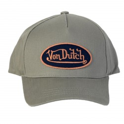 Casquette Von Dutch Aaron Grey/Blue