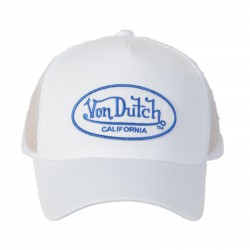 Casquette Von Dutch Debra White / Blue