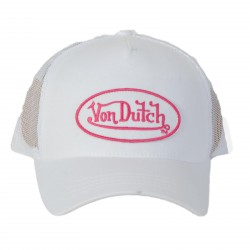 Casquette Von Dutch Eva White / Pink