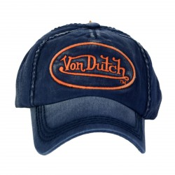 Casquette Von Dutch Tim Denim Navy