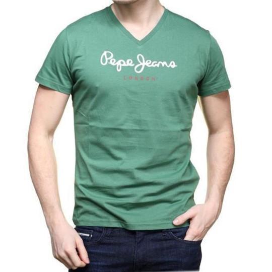 Tee Shirt Pepe Jeans Eggo V Foliage
