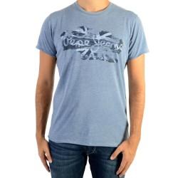 Tee Shirt Pepe Jeans Robinia Union Blue