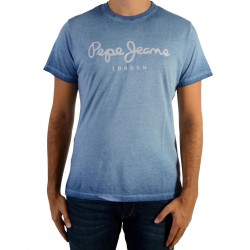 Tee Shirt Pepe Jeans West Sir Union Blue