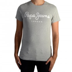 Tee Shirt Pepe Jeans (col rond) Original Stretch Grey Marl