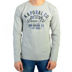 Tee Shirt Kaporal Enfant Nerug Grey Melanged