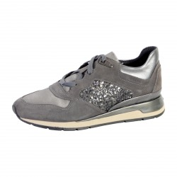 Basket Geox Shahira B Dark Grey/ Anthracite