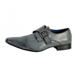 Chaussure Derby Enzo Marconi Gris