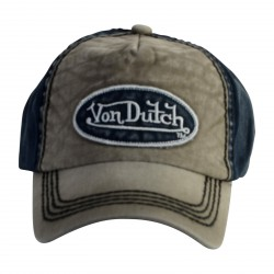 Casquette Von Dutch Ilan Grey Blue
