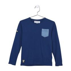Tee Shirt Kaporal Enfant Nazir Deep Blue