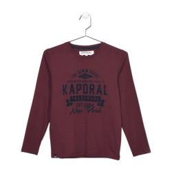 Tee Shirt Kaporal Enfant Nodog Wine