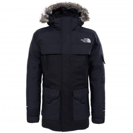 1aa40fdc56 Doudoune The North Face Mcmurdo 2 Parka Noir - Galerie-Chic